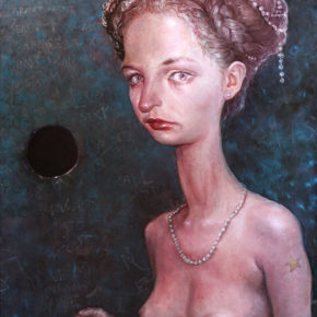 Artist Entering Her Blue Period by Scott G Brooks
